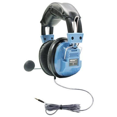 Headset Plus Microphone hamiltonbuhl deluxe headset with gooseneck mic and in line volume plus trrs