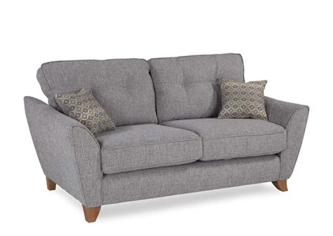 2 Seater Grey Sofa by Grey Fabric Two Seater Sofa Ez Living Furniture