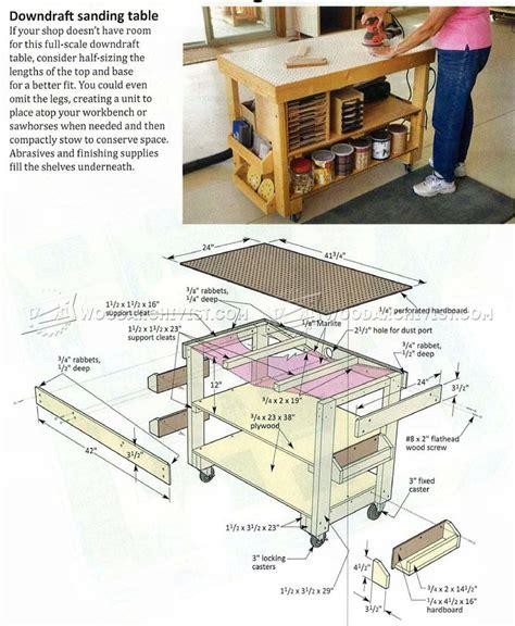 woodworking sanding comdowndraft table design crowdbuild for