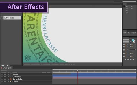 templates for adobe after effects cc how to use live text templates from after effects in