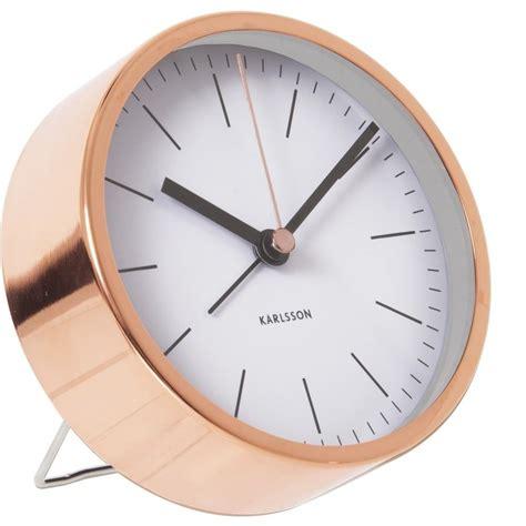 unique clocks karlsson minimal alarm clock white unique bedside bedroom