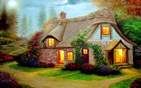 beautiful cottage high definition widescreen