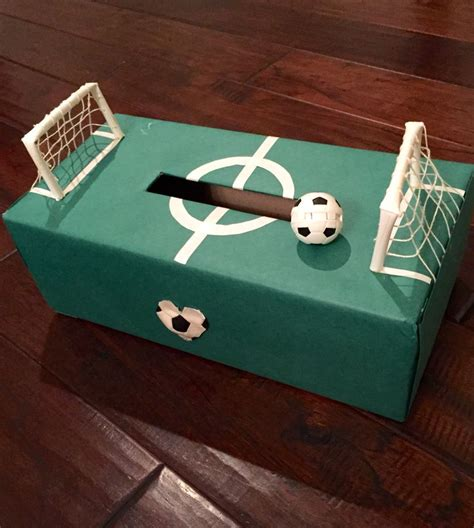 soccer valentines box s box soccer field classroom decor and ideas
