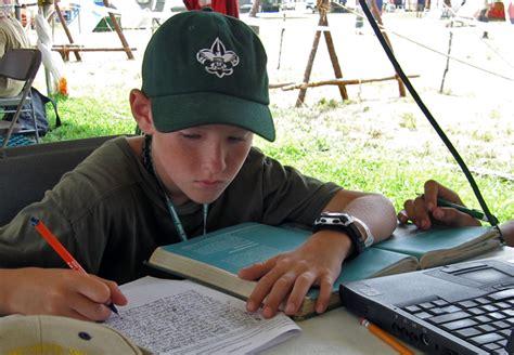 Oceanography Merit Badge Essay by Boy Scouts Get A Taste Of Oceanography Oceanus Magazine