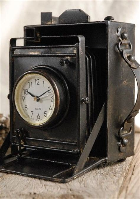 vintage camera home decor vintage camera clock home decor and accessories pinterest