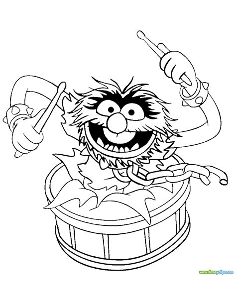 The Muppets Coloring Pages 2   Disney Coloring Book
