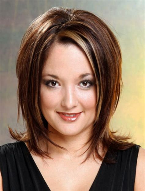 medium length hairstyle for over weight women hairstyles for overweight women over 60 hairstyles for