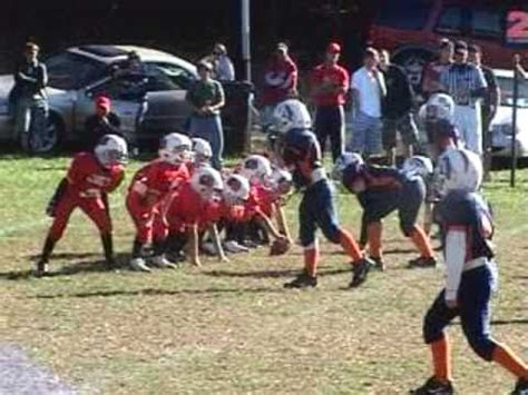little league football players awesome little league kid football player pt 1 youtube