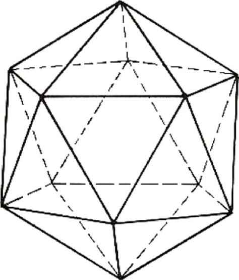 pin dodecahedron net on pinterest
