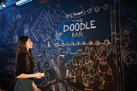 doodle bar grub club 3 of the best arty bars impress your pals with a