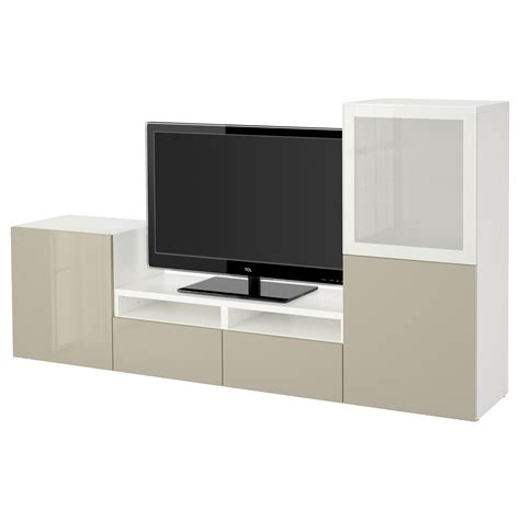 besta combinations best 197 tv storage combination glass doors