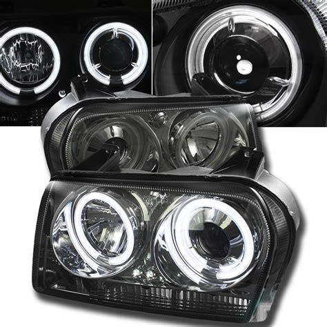 Halo Headlights For Chrysler 300 by 05 08 Chrysler 300 Eye Halo Led Projector
