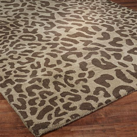 Leopard Print Area Rugs 17 Best Images About Leopard Print Area Rug On