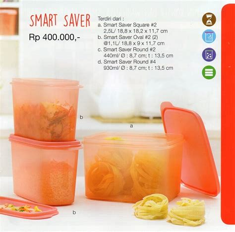 Tupperware Smart Saver Oval 2 1 1l jual smart saver kitchen set tupperware