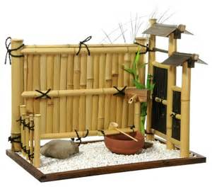 zen bamboo mini rock garden home decor houzz vintage garden decorating ideas