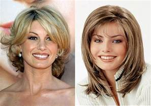 hairstyle for 50 with nose hairstyles for women over 40 youtube
