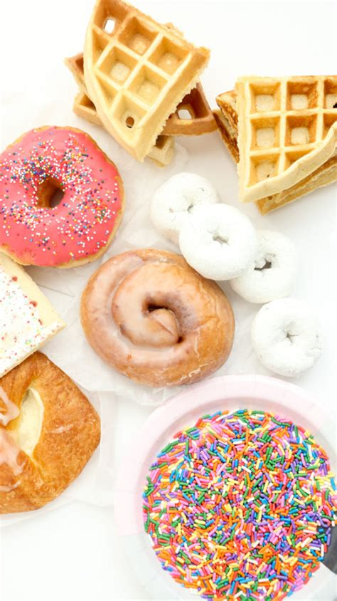 Use The Simpons Doughnut Maker To Cure Those Homer Like Cravings by Eat It An Iced Coffee Breakfast Freak Shake A Kailo