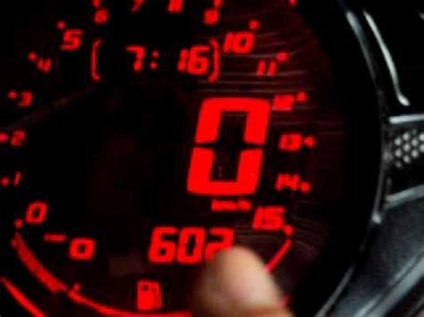 Spedo Meter Variasi Koso Digital Speedometer Version