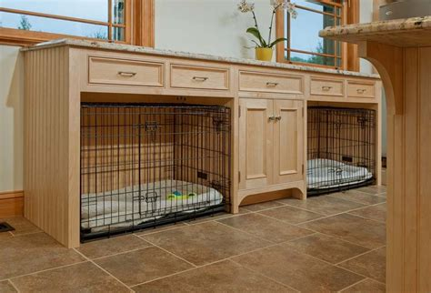 Garage Mudroom Designs transitional dog crates laundry room traditional with dogs