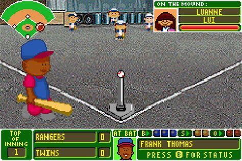 backyard baseball rom backyard baseball gba 28 images gameboy advance