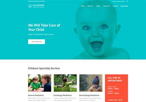 Pediatrician Responsive Website Template Ease Template Pediatrician Website Template