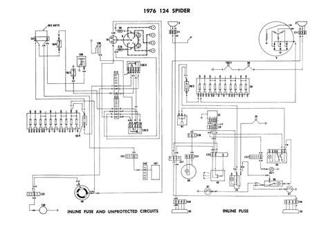 fiat sport spider wiring diagram enthusiast diagrams wiring diagram for free technical advice sacramento area fiat club