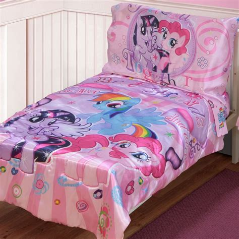 my pony bedding set my pony toddler bed set home furniture design