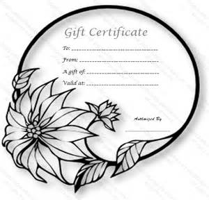 wedding ring gift certificate template free gift cards