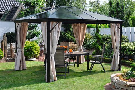 gartenpavillon 3 x 4 leco pavillon 187 profi pavillon 171 bxt 357x292 cm auf