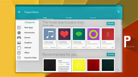 html design linux material design linux papyros coming soon