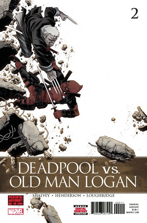deadpool vs logan sep170963 deadpool vs logan 2 previews world