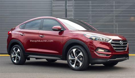 Rendering: Hyundai Tucson Coupe