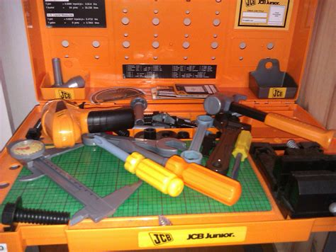 jcb talking tool bench childrens jcb workbench tools for sale items