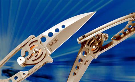 snap lock knife crkt snap lock inventor explains advantages of unique