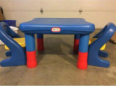 little tikes table with two chairs height adjustable