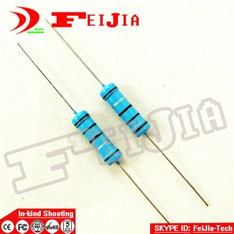 270 ohm 7w resistor aliexpress buy free shipping 2w resistor 270 ohm 1 metal resistor 50 pcs pack