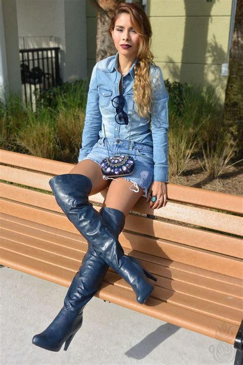 denim cat eye fashion blogger latina blogger otk