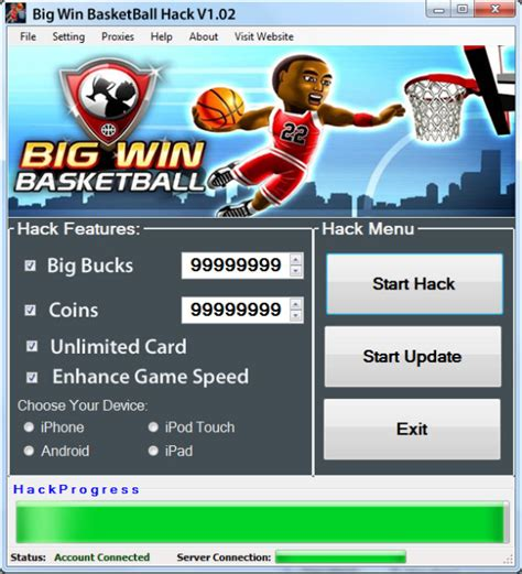 1000 Big Win Basketball Hack Free