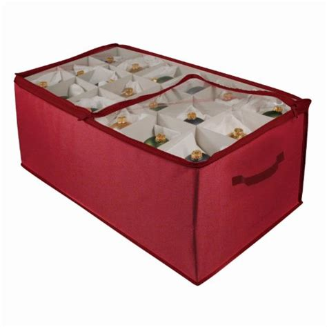 ornament box storage ornament storage boxes decorating