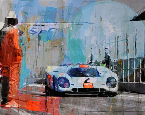 porsche 917 art porsche 917 racing legends markus haub megadeluxe