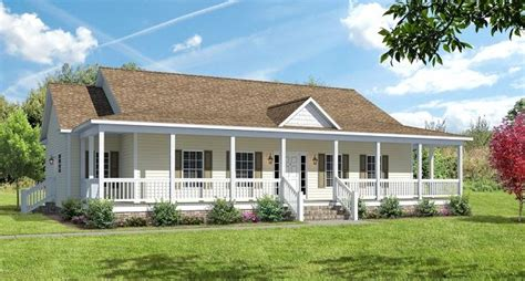 Covered Wrap Around Porch On Ranch The Ashton I Floor Ranch Style Home Plans With Covered Porch