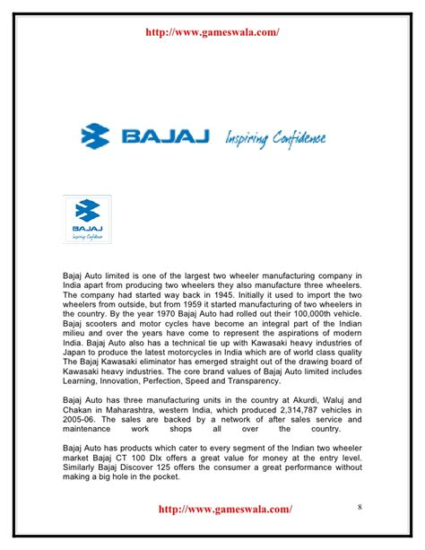 Bajaj Finance Welcome Letter bajaj vs honda www gameswala