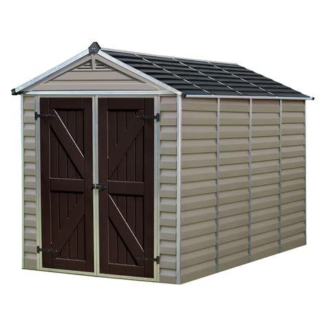 basics shed kit  barn style roof walmartcom