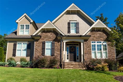 suburban house large suburban house stock photo 169 kzlobastov 54852007