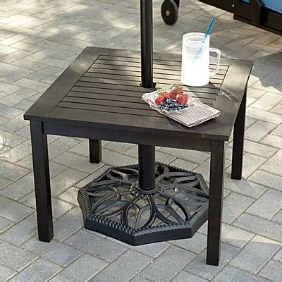 Patio Umbrella Side Table Best 25 Outdoor Umbrellas Ideas On Garden Umbrella Lighting Umbrella For Patio And