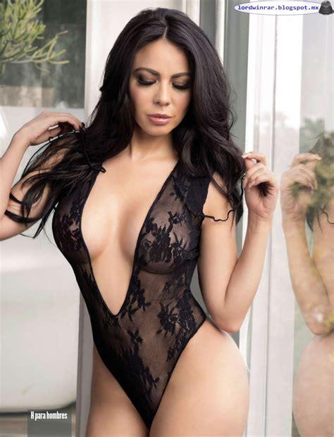 fotos de la revista playboy mayo de 2016 jimena sanchez semi desnuda en la revista h para hombres