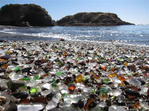 glass beach states parks glassbeach glasses beaches california