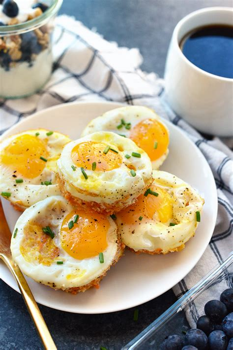 Baked Egg Potato sweet potato hash egg cups fit foodie finds