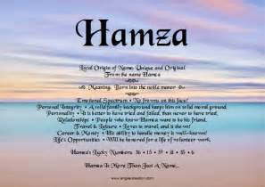 meaning in hamza name meaning and analysis angies creation