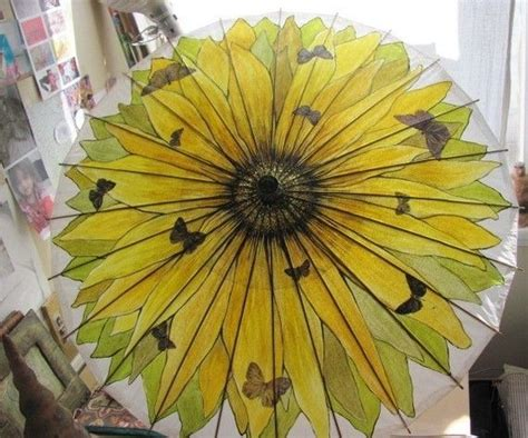butterfly pattern umbrella 1961 best images about bumbershoots on pinterest floral